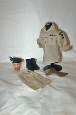1/6 WW2 British London Irish Rifles colonels desert uniform caubeen & badge lot