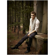 The Vampire Diaries Paul Wesley as Stefan Sitting on Grave 8 x 10 inch Photo
