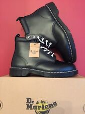 DR. MARTENS 939 BLACK NOIR SMOOTH  LEATHER  BOOTS SIZE UK 12 Brand NEW With BOX