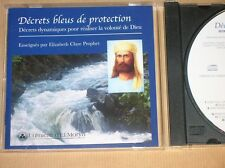 CD RARE / ELIZABETH CLARE PROPHET / DECRETS BLEUS DE PROTECTION / TRES BON ETAT