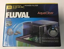 Fluval AquaClear 30 Aquarium Power Filter - Fish Tank Up To 30 Gallons - Hang On