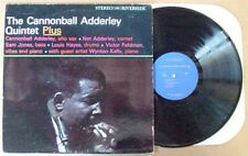 CANNONBALL ADDERLEY QUINTET - PLUS - RIVERSIDE LB LP