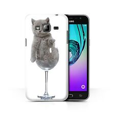 STUFF4 Back Case/Cover/Skin for Samsung Galaxy J3/Cute Kittens