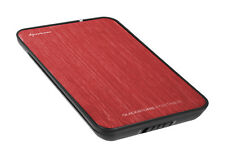 "SHARKOON QUICKSTORE PORTABLE 2.5"" USB2.0 rotes externes Gehäuse"
