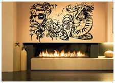 Wall Room Decor Art Vinyl Sticker Mural Decal Music Poster Tattoo Legend AS1983
