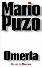 OMERTA by Mario Puzo(2000,Cassette,Abridged)AUDIOBOOK~Final Chptr in Trilogy~VGD