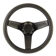 "Marine Boat 12.5"" Black PVC Steering Wheel Fits 3/4"" Tapered Key Way Helms 320mm"