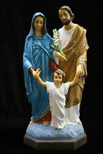 "15"" Holy Family Saint Joseph Baby Child Jesus Mary Catholic Statue Sculpture"