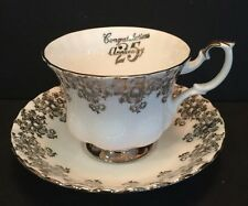 Royal Albert Bone China Footed Tea Cup And Saucer Collectible