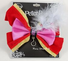 New Disney Peter Pan Captain Hook Cosplay Hair Bow Costume Dress Up Pin