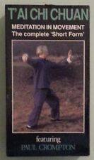 TAI CHI CHUAN MEDITATION IN MOVEMENT the complete short form VHS VIDEOTAPE NEW