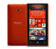 Red 16GB HTC Windows Phone 8X GSM WiFi 8MP Cell Phone Unlocked Smartphone