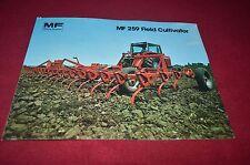 Massey Ferguson 259 Field Cultivator Dealer's Brochure DCPA6