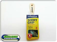 "Fleetwood Paint Brush 2"" Short Grip Angled Brush Super Smooth Finish Ideal Brush"