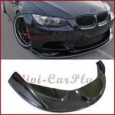 For 08-2013 BMW E90 E92 E93 M3 HM Type Carbon Fiber Front Bumper Spoiler Add Lip