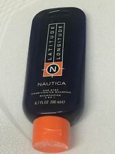 NAUTICA LATITUDE LONGITUDE FOR MEN - 6.7 OZ/200 ML ONE STEP CONDITIONING SHAMPOO