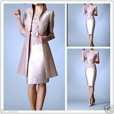 Mother Of The Bride Dresses Women Formal Evening Dress Outfit Coat Free Jacket