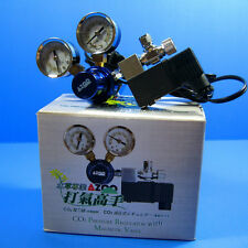 Aquarium CO2 Pressure Regulator With Magnetic Valve - Solenoid Plants Fish Tank