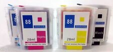 NON-OEM Refillable Ink Cartridges For HP88 K5400 K550