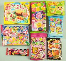 8 PCS SET Japanese Candy Making Kit Kracie Popin Cookin Gummy Land Maruta Japan