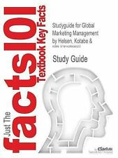 Global Marketing Management by Helsen Kotabe and (2014, Paperback, New Edition)