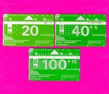 3 uralte Telefonkarten aus Holland - gebraucht!