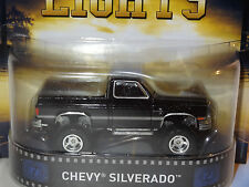 HOT WHEELS RETRO ENTERTAINMENT BLACK CHEVY SILVERADO FRIDAY NIGHT LIGHTS A16