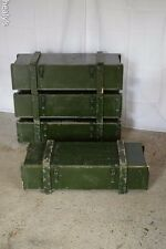 British Army - Military - Wooden Transport Ammo Gun Storage Case Chest Box