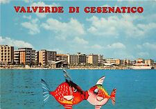B33819 Valverde di Cesenatico View of hotels and Beach from sea  italy