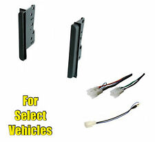 Car Stereo Radio Install Dash Mount Face Trim Kit Combo for select BRZ/FRS Cars