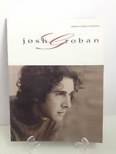Josh Groban Piano Sheet Music Songbook for Piano Vocal & Chords New
