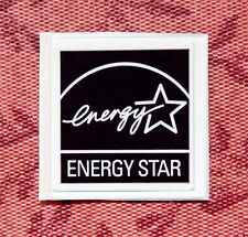 Energy Star Sticker 19 x 19.5mm Badge Logo Label USA Seller