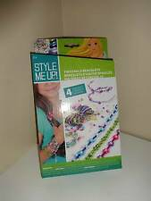 Style Me Up Twistable Craft Bracelets Makes 4 New in Box Wooky