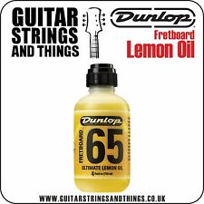 Dunlop 4oz ULTIMATE LEMON OIL for cleaning and hydrating fretboards