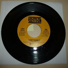NORTHERN SOUL 45 RPM RECORD - LINDA JONES - LOMA 2085 - DRILLED