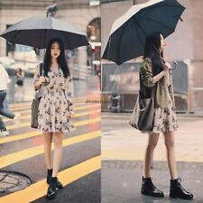 Retro Women Casual V Neck Empire Waist A Line Slim Floral Party Skirt Dress New