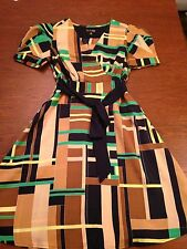 Women's the Webster Miami for Target Geometric Print Dress XS NWT