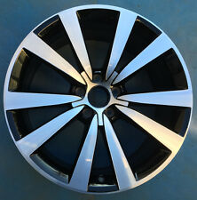 "19"" 12 13 14 15 VOLKSWAGEN VW BEETLE FACTORY OEM WHEEL RIM 69932 MACHINED BLACK"