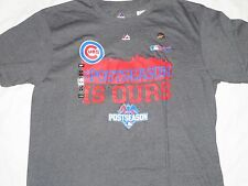 MLB Chicago Cubs Post Season T-Shirt Large/L NWT!