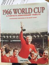 1966 WORLD CUP 40th Tribute signed by 9 of the winning England team Bid From £75