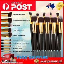 10 pcs Professional Foundation Makeup Brush Set  Eyeshadow BrushCosmetic Brush