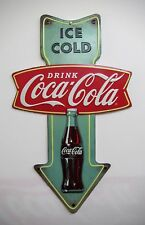 Coca-Cola Arrow Sign - BRAND NEW!