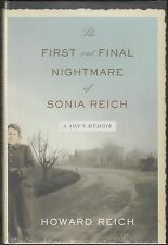 The First and Final Nightmare of Sonia Reich (2006) HC/DJ SIGNED 1ST~PTSD~WWII
