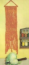 Decorative Knotted Wall Art Pattern - Craft Book:# Z30 Macrame the Easy Way