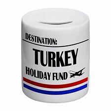Destination Turkey Holiday Fund Novelty Ceramic Money Box