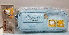 Garfield Nylon Pouches Light Blue Color #4 - PAWS   , h#1