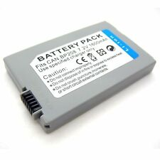 1600mAh Battery for BP-208 BP-208DG Canon DC10 DC100 DC20 DC201 DC21 DC210 DC211