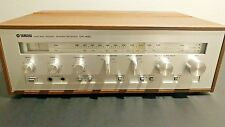 Yamaha CR-420 Vintage Stereo Receiver W/ New Capacitors AM FM Phono