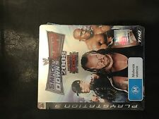 PlayStation 3 wwe Smackdown vs RAW 2008 Steelbook neu sealead PS3 wrestling