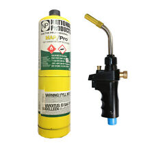 MAPP Hand Torch Self Igniting JH-6ST + 1 MAPP gas soldering brazing heat